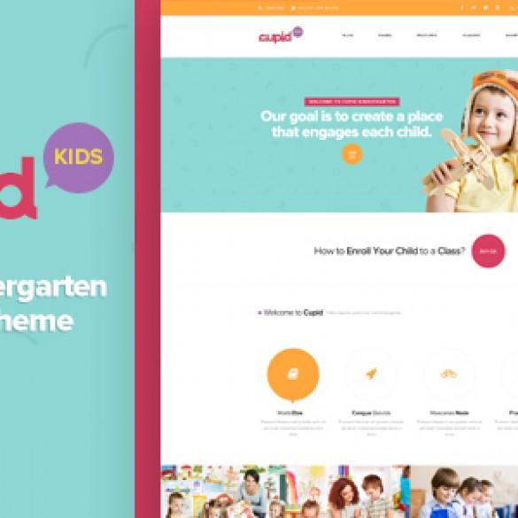 CUPID – Adorable Kindergarten WordPress Theme