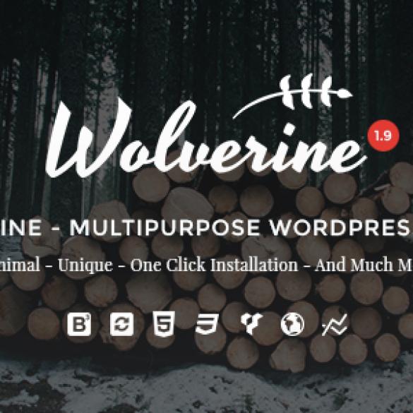 Wolverine – Responsive Multi-Purpose WordPress Theme