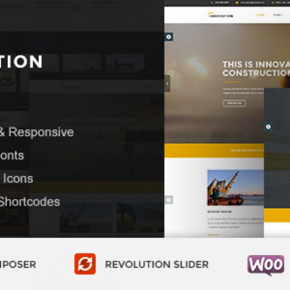 INNOVATION – Construction & Building WordPress Theme
