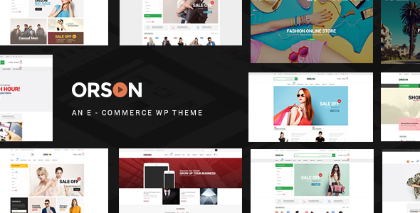 Orson – Innovative Ecommerce WordPress Theme for Online Stores