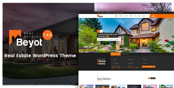 BEYOT – The Revolution WordPress Real Estate Theme