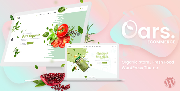 Oars – Creative Organic Store & Fresh Food WordPress Theme
