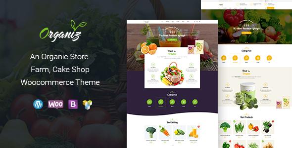Organiz – An Organic Store WooCommerce Theme