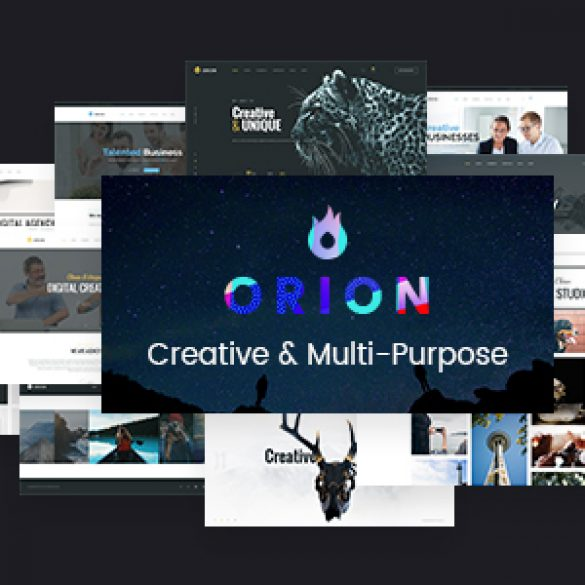 Orion – Creative Multi-Purpose WordPress Theme