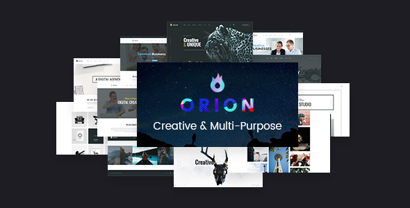 Orion – Creative Multi-Purpose WordPress Theme