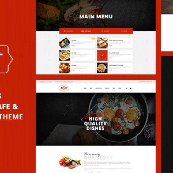 Rica Plus – A Delicious Restaurant, Cafe & Pub WP Theme
