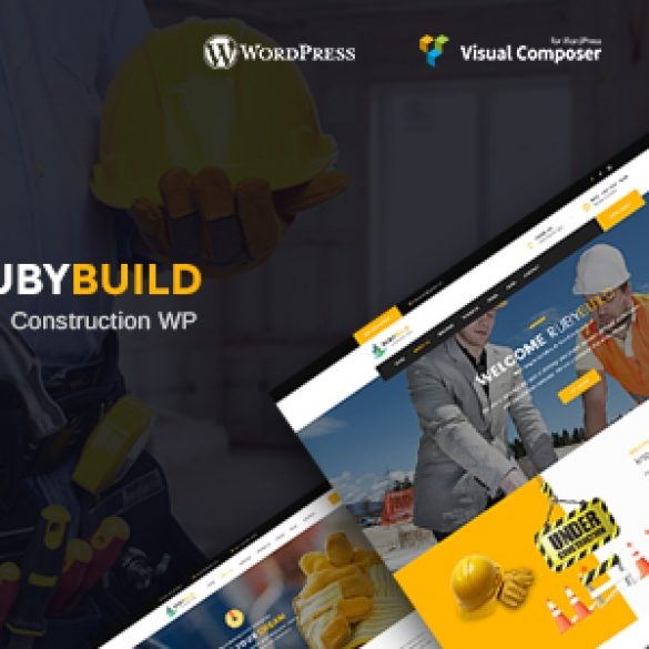 RubyBuild – Building & Construction WordPress Theme