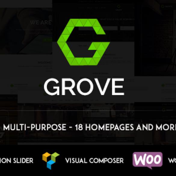 GROVE – Responsive Multipurpose WordPress Theme
