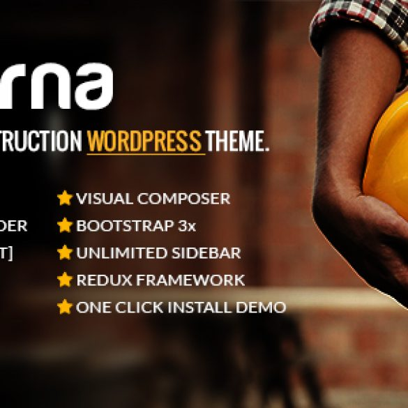 Darna – Building & Construction WordPress Theme