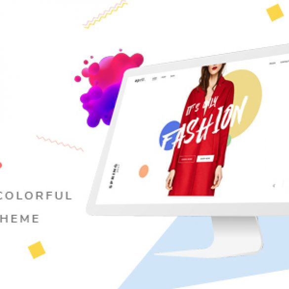 APRIL – Wonderful Fashion WooCommerce WordPress Theme