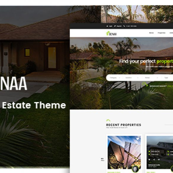 BENAA – The Innovative Real Estate WordPress Theme