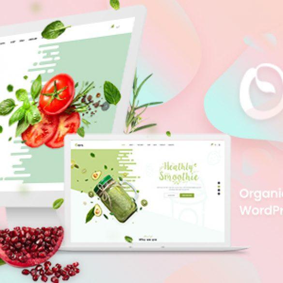 Oars – Creative Organic Store & Fresh Food WordPress Theme